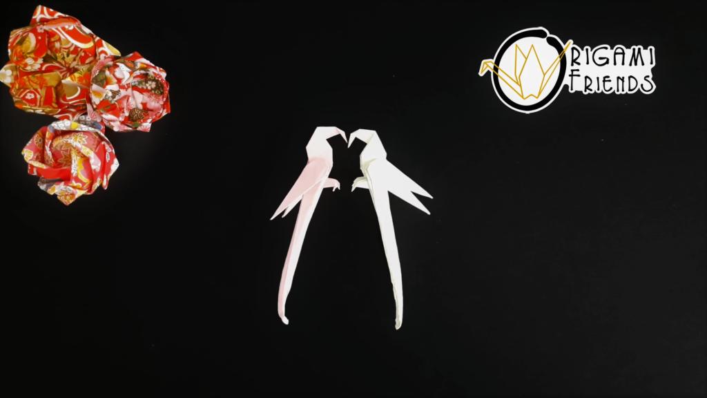 Papagal | Tutoriale Origami