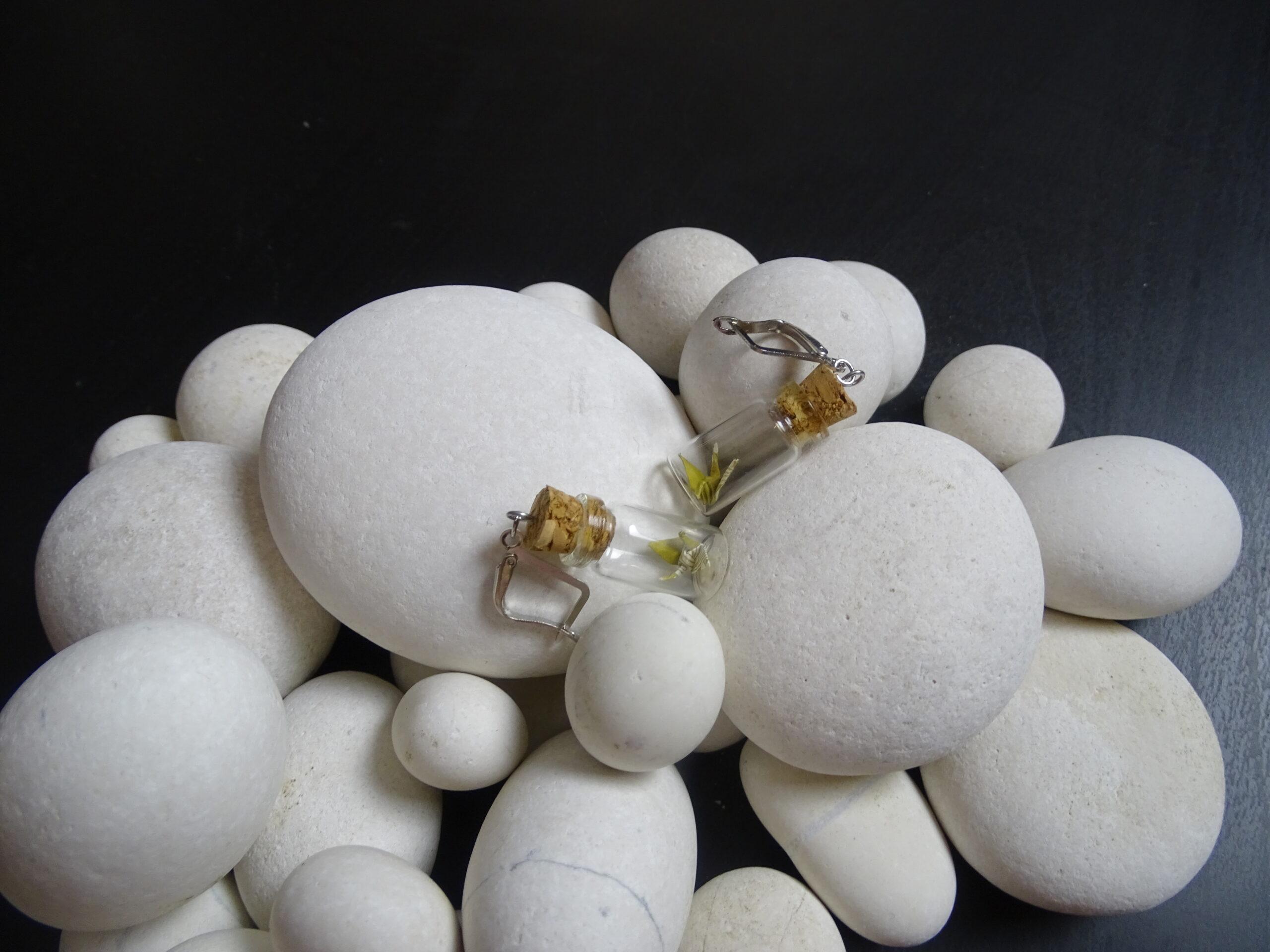 Cercei – cocori în sticluțe